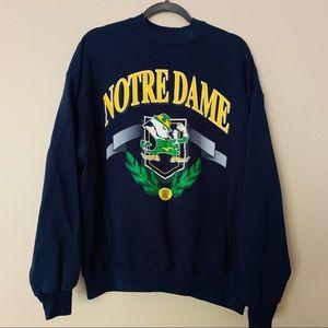 VTG   Notre Dame   College   Crew   Navy